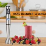 hand blender uses and functions